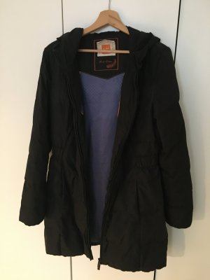 Boss Orange Down Coat black mixture fibre