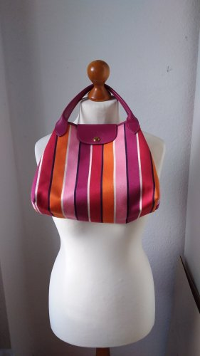 Wunderbare edle Stofftasche mit Streifen, le pliage, Sonderedition