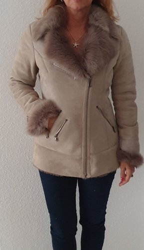 Coeur Pelt Jacket light grey-taupe