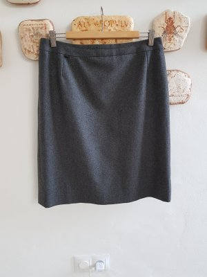 Burberrys of London Wool Skirt slate-gray