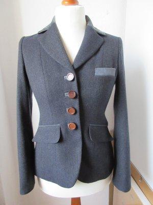 Riani Blazer de lana multicolor lana de esquila