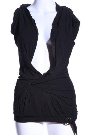 Wunderkind Blusentop schwarz extravaganter Stil