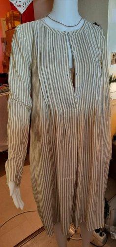 Wunderkind by Joop! Kleid + Unterkleid Creme Braun Seide Gr. 36