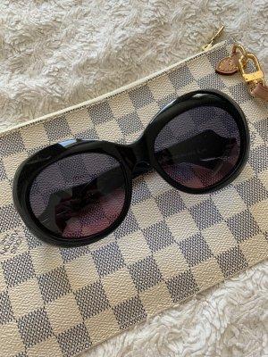 Wunderkind Gafas de sol ovaladas negro