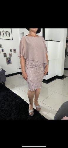 Swing Cocktail Dress dusky pink-mauve