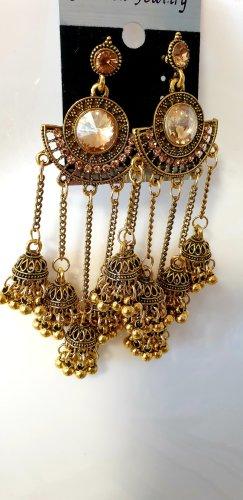 Wunderschön jhoomka goldene ohrringe von fashion jewellery