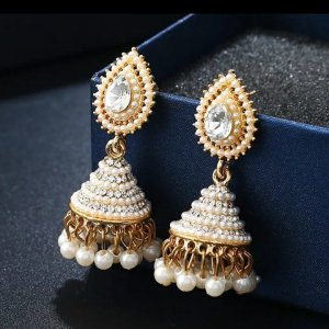 Pearl Earring gold-colored