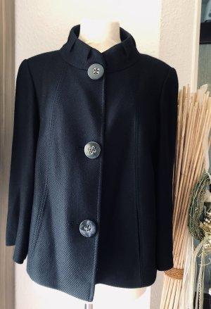 Wunderschön schwarze Gerry Weber Blazer Jacke in A-Linie mit 3/4 Arm