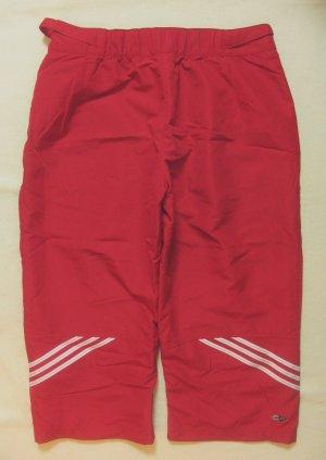 Wunderschöne ADIDAS 3/4 ..Capri..Sporthose in kirschrot, Größe DE 34