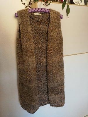 Cocogio Manteau en tricot multicolore