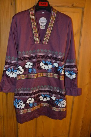 Almatrichi Dress multicolored cotton