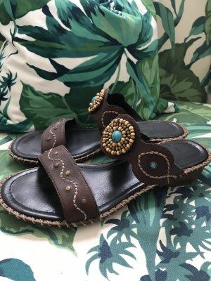 Wunderschöne bequeme Sandalen mit Schmuckelement * von Rieker