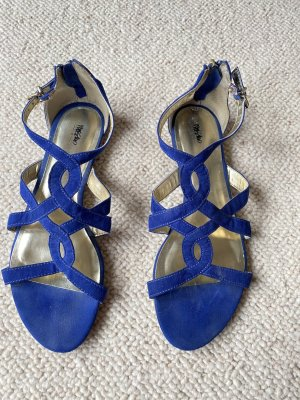 Mossimo Sandały rzymskie niebieski