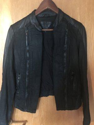 Be Edgy Leather Jacket black