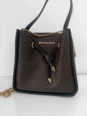 Louis Vuitton Bolso negro-marrón