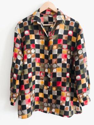 wunderschöne Bluse aus hochwertigem Material und Seidenanteil