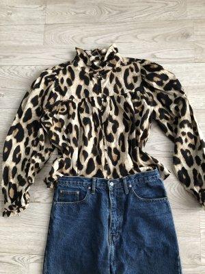 Wunderschöne Bluse im Leomuster von H&M
