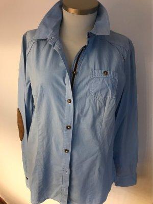 Wunderschöne Bluse in Hellblau