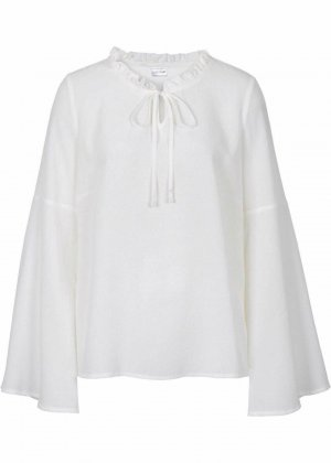 Bodyflirt Tunic Blouse natural white-white