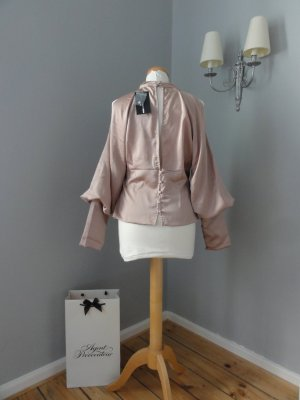 Fashion Nova Blusa brillante rosa
