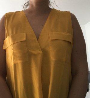 Wunderschöne Bluse, sommerlich gelb, M|L, neu ungetragen, Susymix