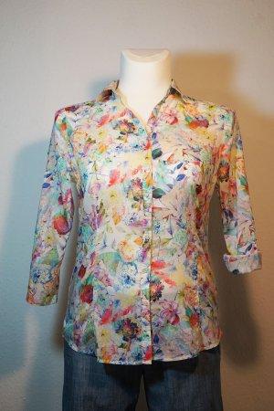 Christian Berg Short Sleeved Blouse multicolored cotton