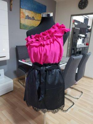 H&M Blusa rosso lampone