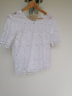 Jake*s Short Sleeved Blouse white