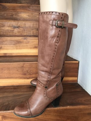 Tamaris Heel Boots multicolored leather