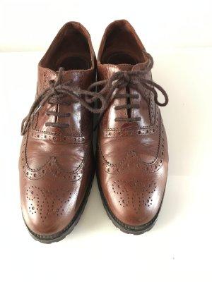 Lottusse Budapest schoenen cognac