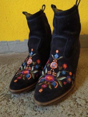 Sommerkind Western Booties multicolored