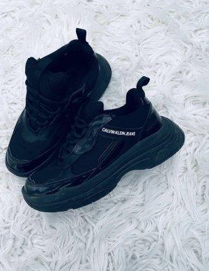 Calvin Klein Platform Trainers black
