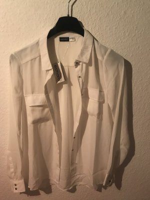 Esmara Glanzende blouse wit Polyester