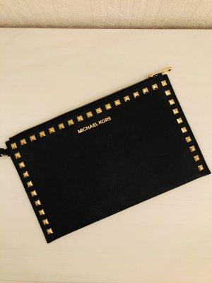 Michael Kors Bolso de mano negro-color oro
