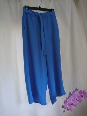 Marie Sixtine Pantalone culotte blu fiordaliso