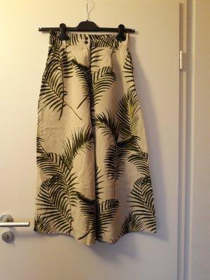 H&M Pantalone culotte multicolore Lino