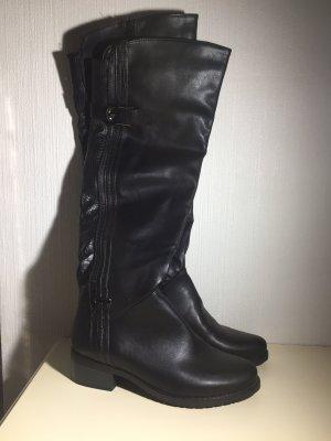 1 brand Platform Boots black