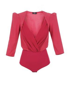 Elisabetta Franchi Bodysuit Blouse multicolored
