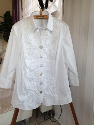 Wunderschöne detailverliebte Bluse von Walbusch