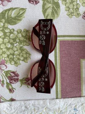 Christian Dior Okrągłe okulary przeciwsłoneczne Wielokolorowy