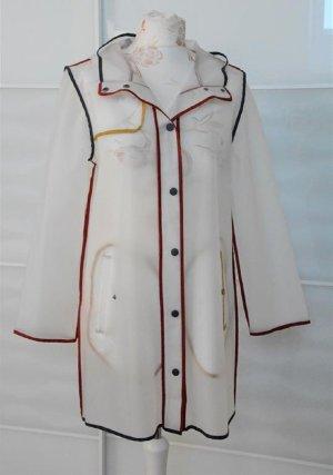 wunderschöne durchsichtige Regenjacke Jacke Gr. M