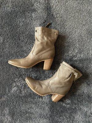 Alberto Fermani Wciągane buty za kostkę szaro-brązowy-taupe