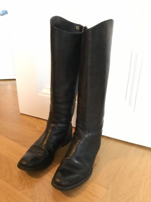 Ed.Meier Riding Boots black leather