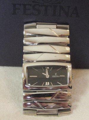 Wunderschöne, edle Armband-UHR von FESTINA..stainless steel..hochglanz poliert..neuwertig mit Box !!