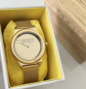 Esprit Watch With Metal Strap gold-colored