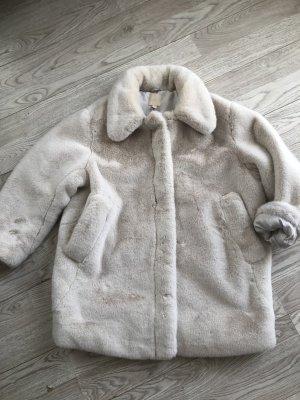 H&M Fur Jacket natural white