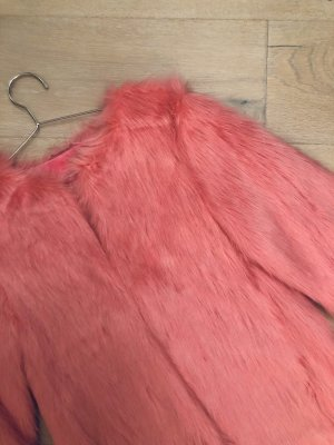 Wunderschöne Flauschjacke in pink
