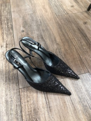 Roland Slingback Pumps black