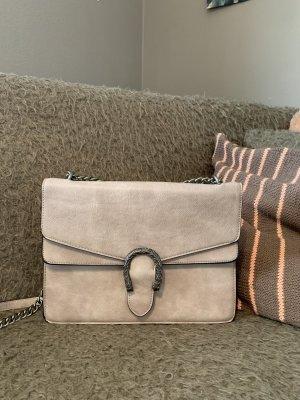 Wunderschöne graue Handtasche