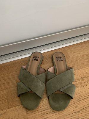 Bibi Lou Comfort Sandals lime-green